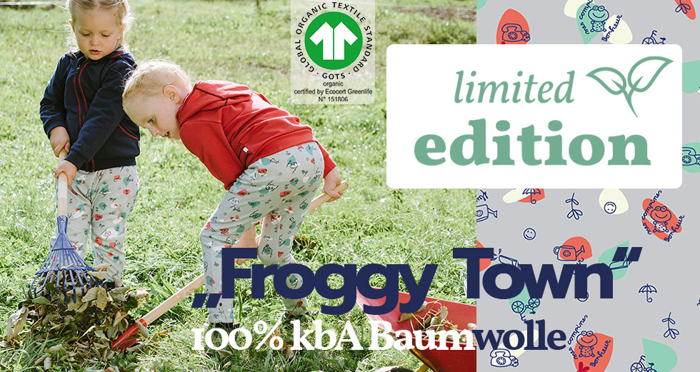 iobio Limited Edition Froggy Town
