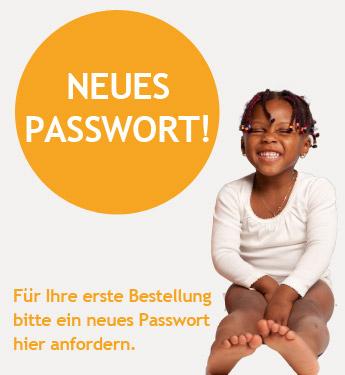 Passwort anfordern