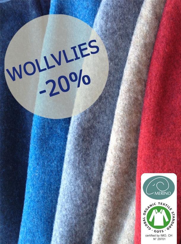 Wollvlies -20%