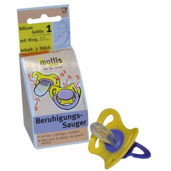 mollis Schnuller Gr.1